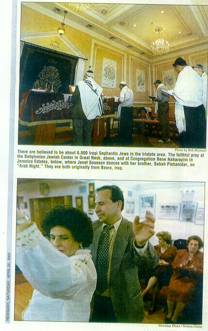 TRADITIONS Of Their Own - Iraqi Jewish Association Of