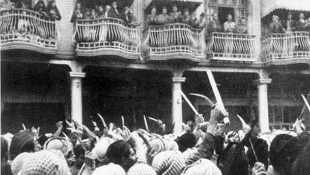 The Farhud pogrom in Baghdad of 1941.